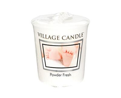 Village Candle Aromatická votívny sviečka Púdrová sviežosť (Powder Fresh) 57 g