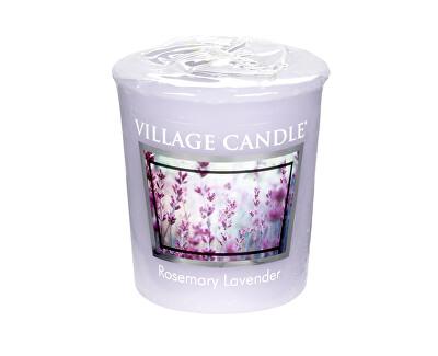 Village Candle Aromatická votívny sviečka Rozmarín a levandule (Rosemary Lavender) 57 g