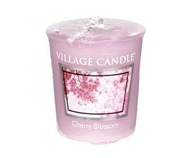 Village Candle Aromatická votívny sviečka Čerešňový kvet (Cherry Blossom) 57 g
