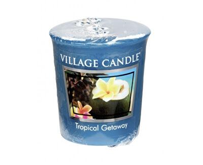 Village Candle Aromatická votívna sviečka Víkend v trópoch (Tropical Getaway) 57 g