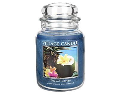 Vonná svíčka ve skle Víkend v tropech (Tropical Getaway) 645 g