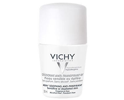 Deodorant-Antiperspirant 48h roll-on pre citlivú alebo depilovanú pokožku (Soothing Anti-Perspirant) 50 ml