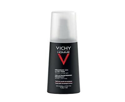 Deodorant ve spreji proti nadměrnému pocení 24 h Homme (Ultra Refreshing Deodorant) 100 ml