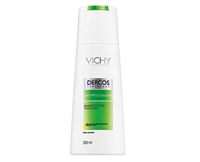 Šampon proti lupům pro suché vlasy Dercos - SLEVA - poškozená krabička