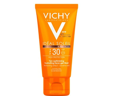 Vichy Gel-fluid na obličej SPF 30 Ideal Soleil (Bronze Gel-Fluid) 50 ml