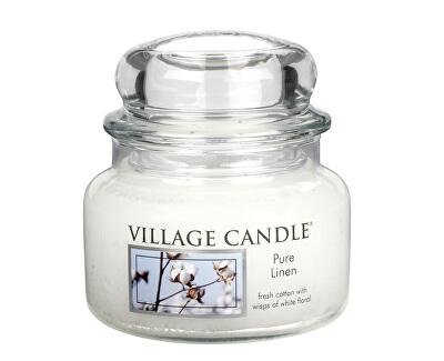 Village Candle Vonná svíčka ve skle Čisté prádlo (Pure Linen) 269 g