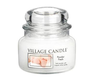 Village Candle Vonná svíčka ve skle Pudrová svěžest (Powder Fresh) 269 g