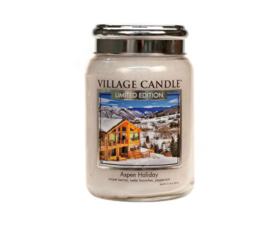 Vonná svíčka ve skle Sváteční Aspen (Aspen Holiday) 645 g