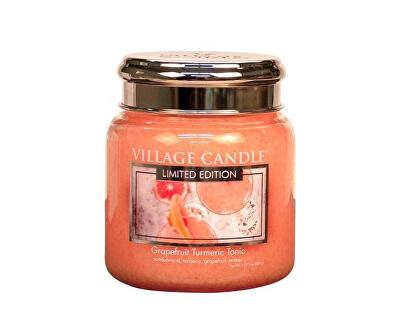 Vonná svíčka ve skle Osvěžující tonic (Grapefruit Turmeric Tonic) 390 g