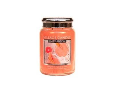 Vonná svíčka ve skle Osvěžující tonic (Grapefruit Turmeric Tonic) 602 g