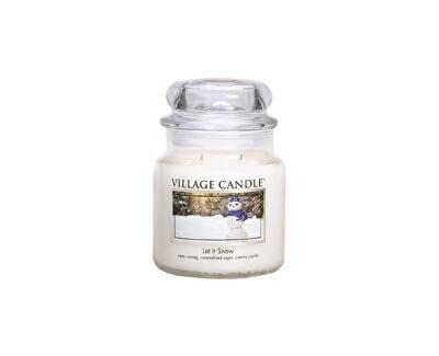 Village Candle Vonná svíčka ve skle Sněhová nadílka (Let It Snow) 397 g