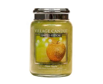 Vonná svíčka ve skle Šťavnaté jablko (Glam Apple) 602 g