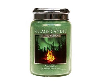 Vonná svíčka ve skle Táborák z jedlí (Fireside Fir) 602 g