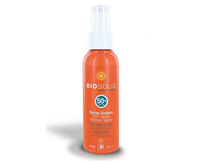 Biosolis Sprej na opalování na obličej a tělo SPF 50 (Sun Spray) 100 ml