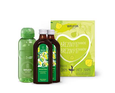 Set de detoxifiere de mesteacăn 2x 250 ml
