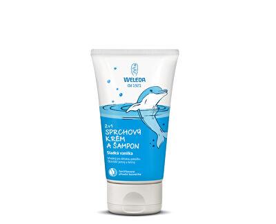 Sprchový krém a šampon 2 v 1 Sladká vanilka 150 ml
