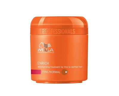 Wella Professional Hydratační maska pro jemné až normální vlasy Enrich (Moisturizing Treatment For Fine/Normal Hair) 150 ml