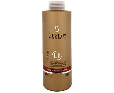 Wella Professional Luxusní šampon s oleji (Luxe Oil Keratin Protect Shampoo) 1000 ml
