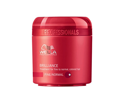 Wella Professionals Maska pro jemné až normální barvené vlasy Brilliance (Treatment For Fine/Normal Colored Hair) 150 ml