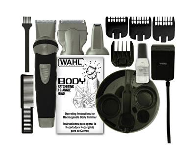 Bezdrátový tělový holící strojek (Wahl All in one Groomsman WHL-9953-1016)