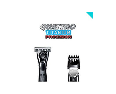 Holicí strojek pro muže Wilkinson Quattro Titanium Precision Carbon