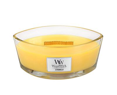 WoodWick Vonná svíčka loď Citronella 453 g