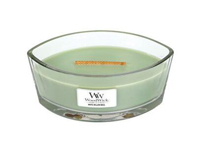 Vonná svíčka loď White Willow Moss 453 g - SLEVA - poškrábaná svíčka