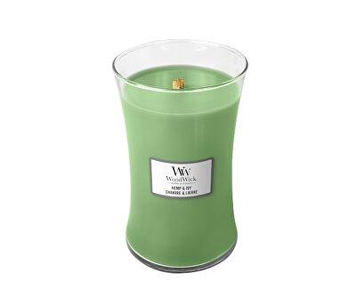 Vonná svíčka váza Hemp & Ivy 609,5 g