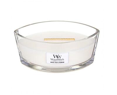 Vonná svíčka loď White Tea & Jasmine 453 g