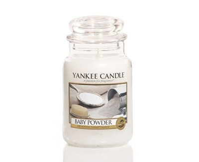 Yankee Candle Aromatická sviečka Candle Classic veľký Baby Powder 623 g