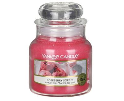 Aromatická svíčka Classic malá Roseberry Sorbet 104 g