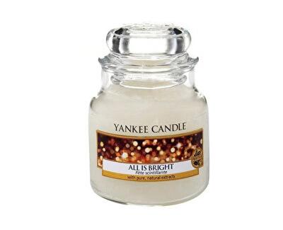 Yankee Candle Aromatická sviečka Classic malý All Is Bright 104 g