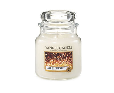 Yankee Candle Aromatická sviečka Classic strednej All Is Bright 411 g