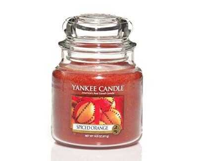 Aromatická svíčka Classic střední Pomeranč se špetkou koření (Spiced Orange) 411 g