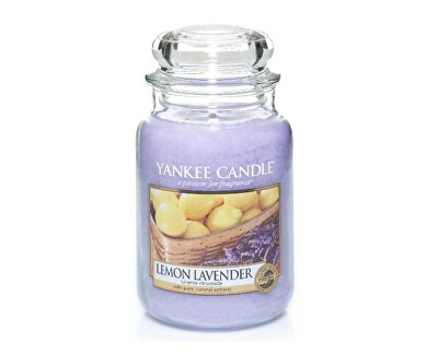 Yankee Candle Aromatická sviečka Classic veľký Lemon Lavender 623 g