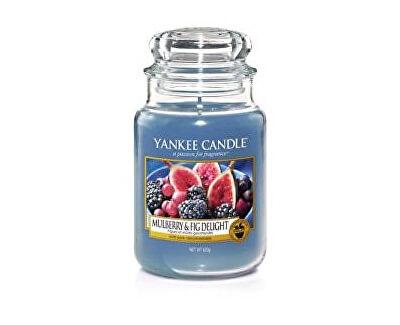 Yankee Candle Aromatická sviečka Classic veľký Mulberry & Fig Delight 623 g