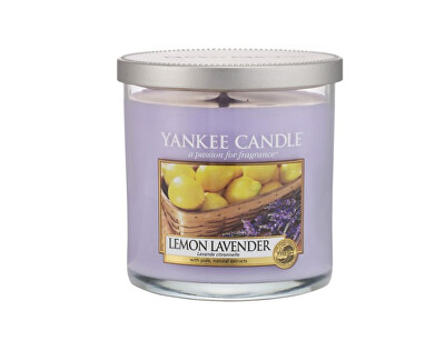 Yankee Candle Aromatická sviečka Décor malý Lemon Lavender 198 g