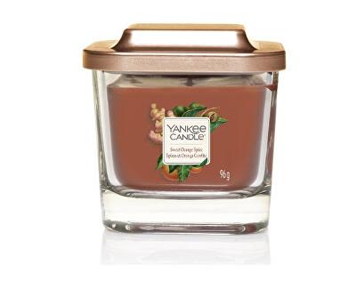 Aromatická svíčka malá hranatá Sweet Orange Spice 96 g