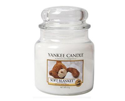 Aromatická svíčka střední Soft Blanket 411 g