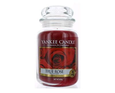 Yankee Candle Aromatická sviečka True Rose 623 g