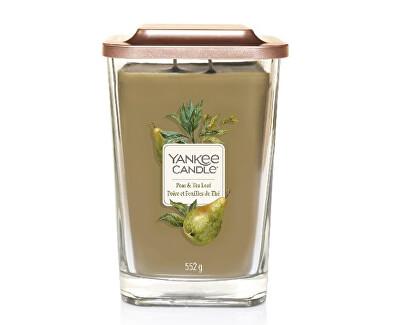 Aromatická svíčka velká hranatá Pear & Tea Leaf 552 g