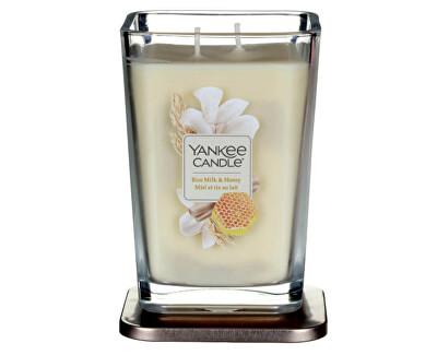 Aromatická svíčka velká hranatá Rice Milk & Honey 552 g