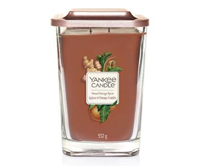 Aromatická svíčka velká hranatá Sweet Orange Spice 552 g