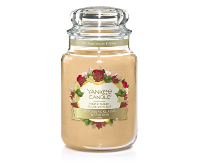 Aromatická svíčka velká Javorový sirup (Maple Sugar) 623 g