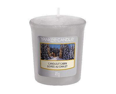 Aromatická votivní svíčka Candelit Cabin 49 g