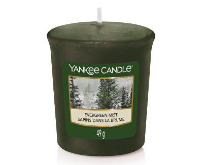 Aromatická votivní svíčka Evergreen Mist 49 g