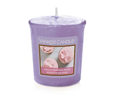 Aromatická votivní svíčka Sladká ranní růže (Sweet Morning Rose) 49 g