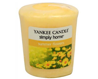 Yankee Candle Aromatická votívny sviečka Summer Flowers 49 g