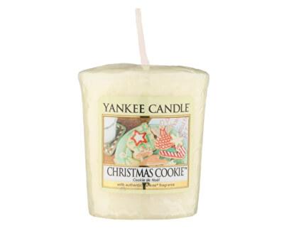 Yankee Candle Aromatická votívny sviečka Vianočné pečivo (Christmas Cookie) 49 g