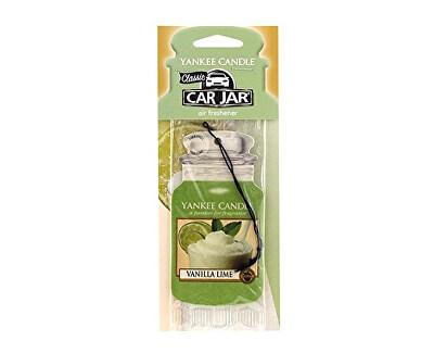 Papírová visačka do auta Vanilka s limetkou (Vanilla Lime) 1 ks